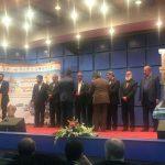 اهدای جایزه منطقه 1 شهرداری